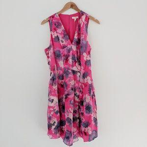 Rebecca Taylor • Floral Open Back Dress
